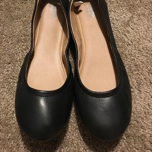 9W Black Flats
